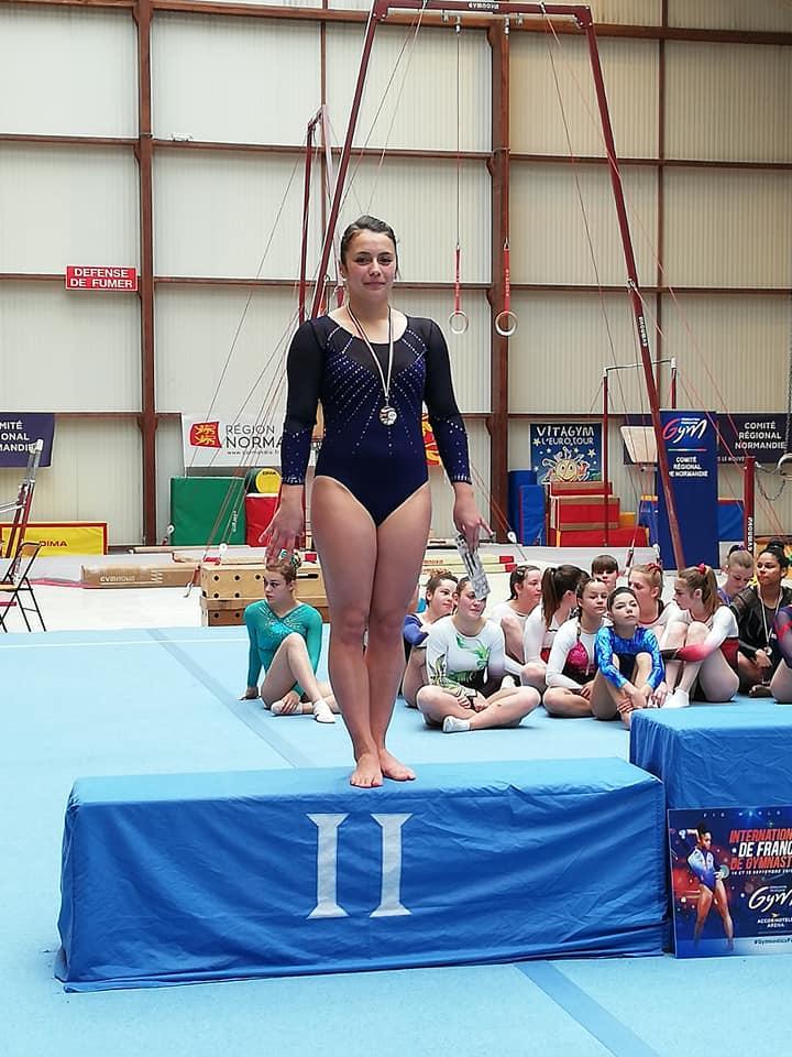 Amandine Vice-Championne inter-départemental