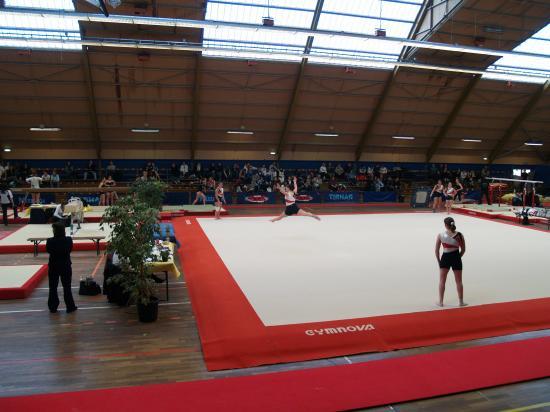 Championnat régional à Evreux Charlotte,Amandine,Florine,Morgane,Rachël.