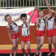 POUSSINS BRONZE oissel 2013