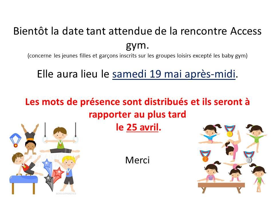 Acces gym