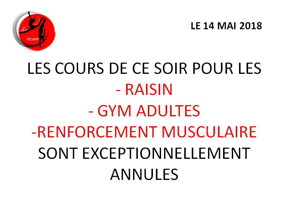 Annul cours