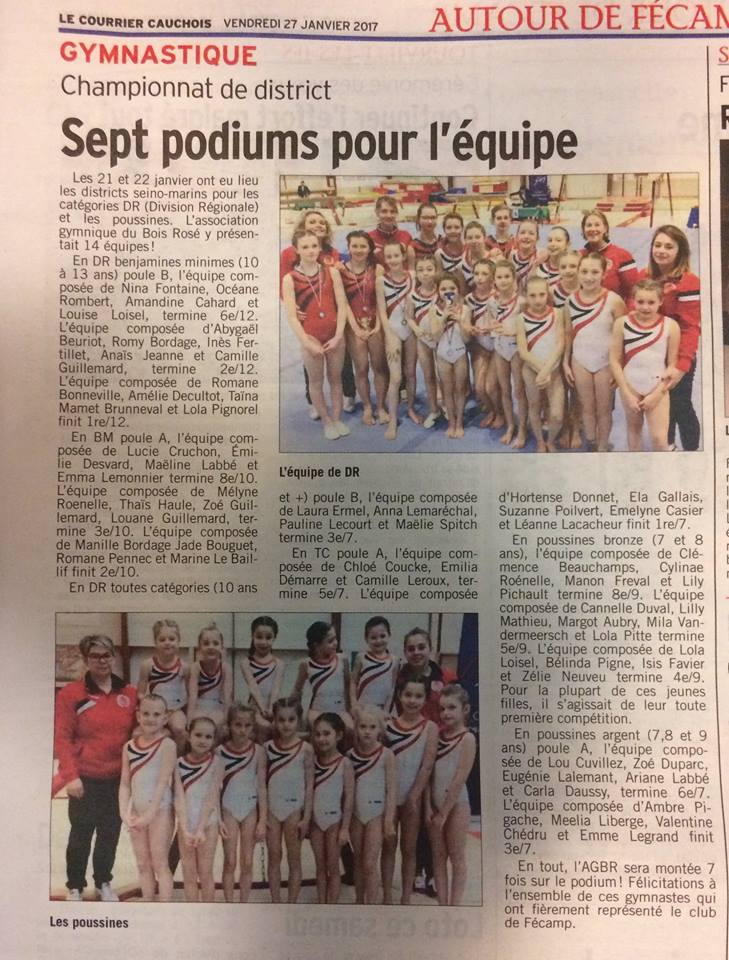 Championnat de district poussines dr janvier 2017 le havre