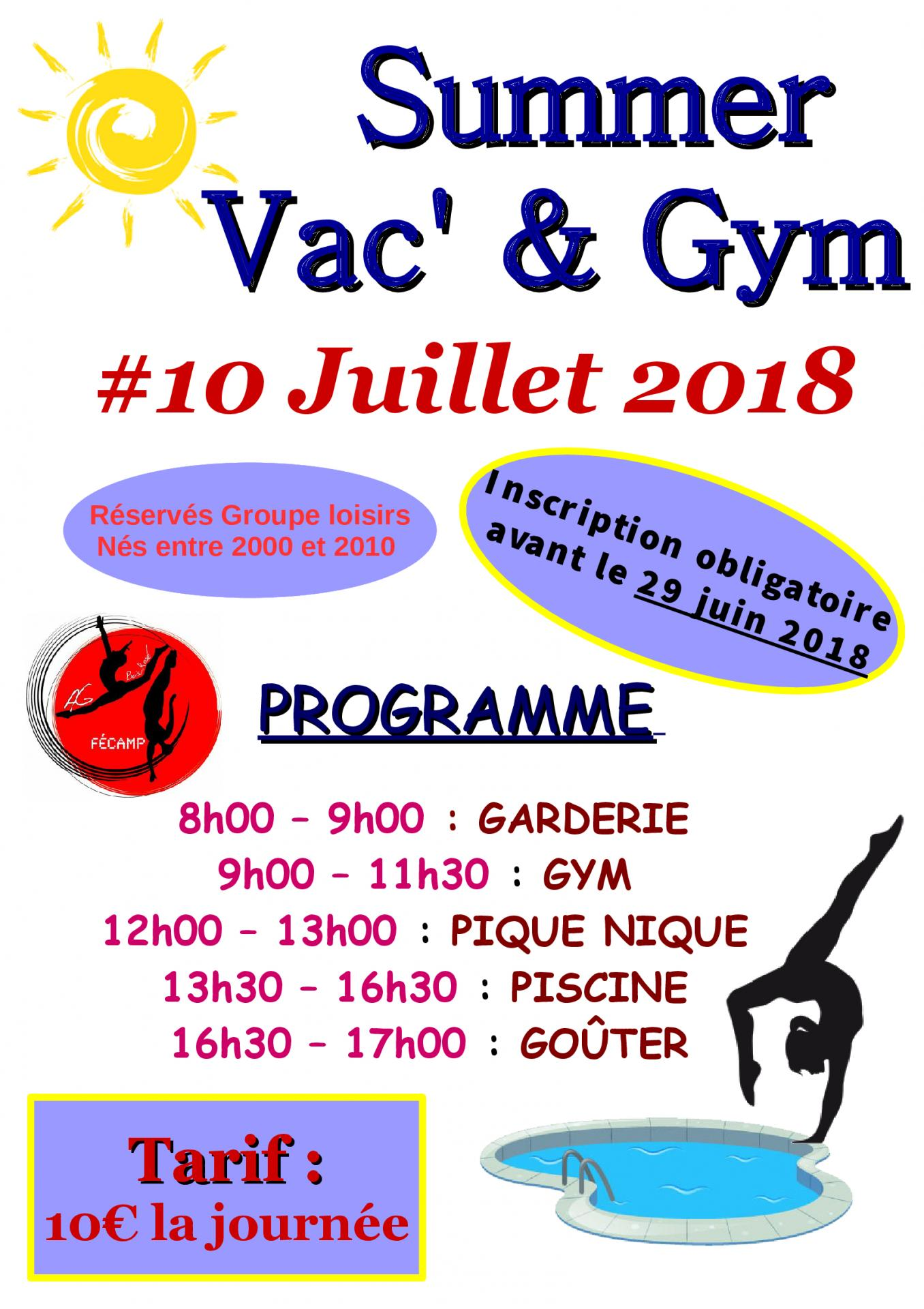Summer vac gym 2